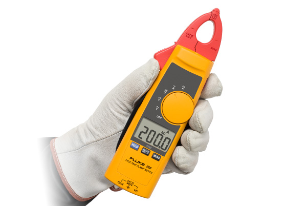 Small Clamp Meter : Fluke detachable jaw true rms ac dc clamp meter
