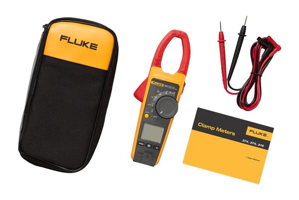 Fluke 375 Clamp Meter : Fluke fc true rms ac dc clamp meter valley