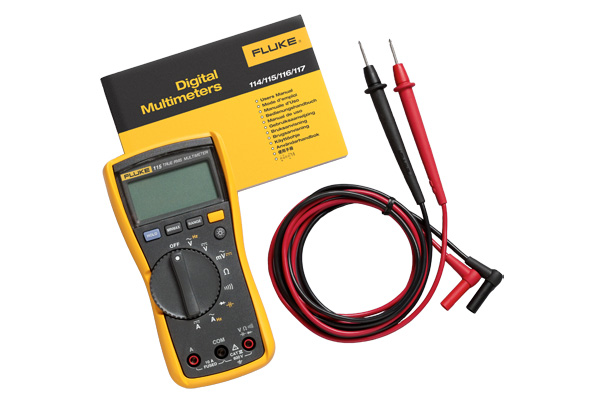 Fluke 115 Multimeter : Fluke digital multimeter valley instrument service